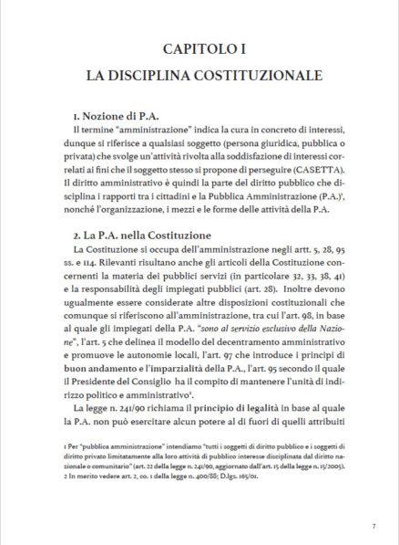 anteprima elementi essenziali di Diritto Amministrativo, autore Giovanni Calandriello