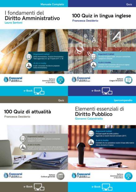 All in one e-book - collezione degli 8 e-book di LibrieConcorsi.com
